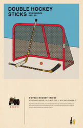 Poster: Double Hockey Sticks