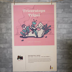 Poster: Triceratops Tripel