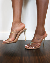 "Load image into Gallery viewer, ""Hush"" Strappy Mules - Belle Avi"