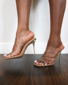 """Hush"" Strappy Mules - Belle Avi"