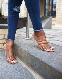 """Hush"" Strappy Mules"