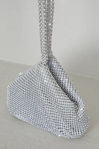 """Bling"" Mini Bag (Silver) - Belle Avi"