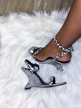 "Load image into Gallery viewer, ""Bossy"" Dalmation Wedge Heel - Belle Avi"