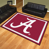 Alabama Crimson Tide | Rug | 8x10 | NCAA