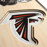 Atlanta Falcons | Stadium Banner | Home of the Falcons | Wood