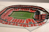 Atlanta Falcons | 3D Stadium View | Mercedes-Benz Stadium | Wall Art | Wood | 5 Layer