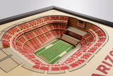 Arizona Cardinals | 3D Stadium View | State Farm Stadium | Wall Art | Wood