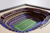 Baltimore Ravens | 3D Stadium View | M&T Bank Stadium | Wall Art | Wood