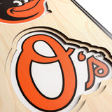 Baltimore Orioles | Stadium Banner | Home of the Orioles | Wood