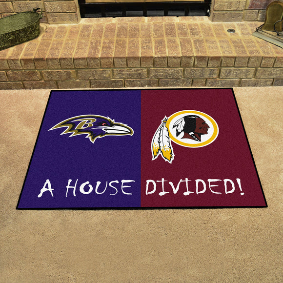 Ravens | WFT | House Divided | Mat | NFL