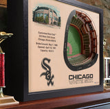 Chicago White Sox | 3D Stadium View | US Cellular Field | Wall Art | Wood