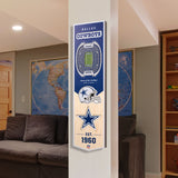 Dallas Cowboys | Stadium Banner | Home of the Cowboys | Wood