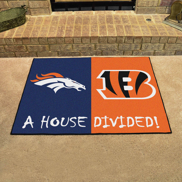 Broncos | Bengals | House Divided | Mat | NFL