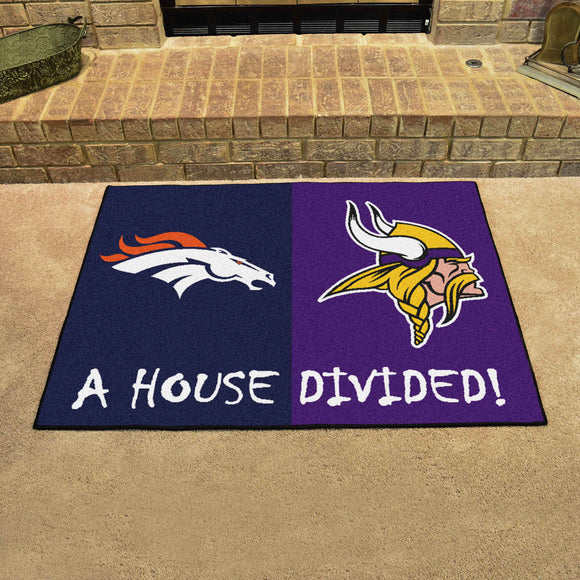 Broncos | Vikings | House Divided | Mat | NFL