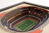 Denver Broncos | 3D Stadium View | Mile High Stadium | Wall Art | Wood