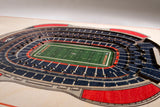 Denver Broncos | 3D Stadium View | Mile High Stadium | Wall Art | Wood | 5 Layer