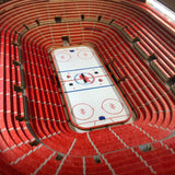 Detroit Red Wings | 3D Stadium View | Lighted End Table | Wood