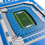 Detroit Lions | Stadium Banner | Home of the Lions | Wood