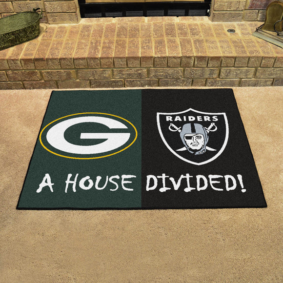 Packers | Raiders | House Divided | Mat | NFL