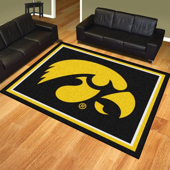 Iowa Hawkeyes | Rug | 8x10 | NCAA
