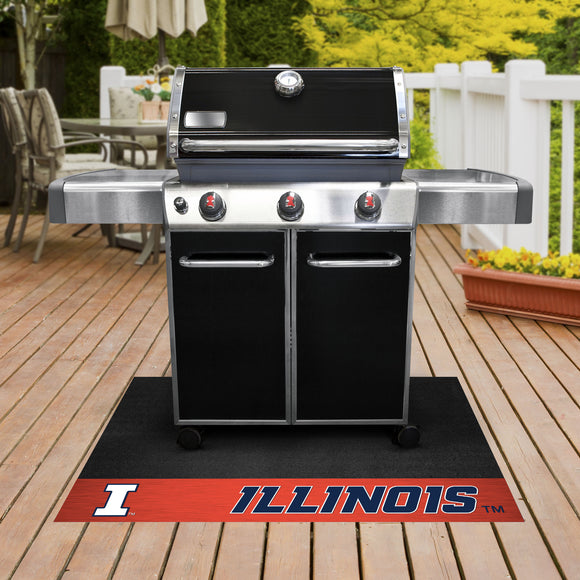 Illinois Fighting Illini | Grill Mat | NCAA