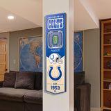 Indianapolis Colts | Stadium Banner | Home of the Colts | Wood