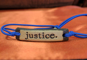 Bracelet by MudLOVE | Justice | Multiple Band Colors | Stretchable Band
