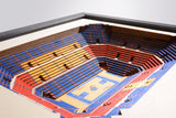 Kansas Jayhawks | 3D Stadium View | Allen Fieldhouse | Wall Art | Wood