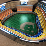 Los Angeles Dodgers | 3D Stadium View | Lighted End Table | Wood