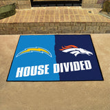 Chargers | Broncos | House Divided | Mat | NFL