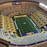 LSU Tigers | 3D Stadium View | Lighted End Table | Wood