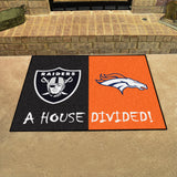 Raiders | Broncos | House Divided | Mat | NFL