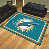 Miami Dolphins | Rug | 8x10 | NFL