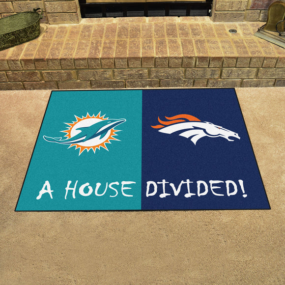 Dolphins | Broncos | House Divided | Mat | NFL