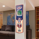 Minnesota Twins | Stadium Banner | Home of the Twins | Wood