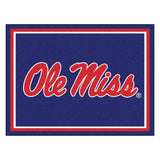 Ole Miss Rebels | Rug | 8x10 | NCAA