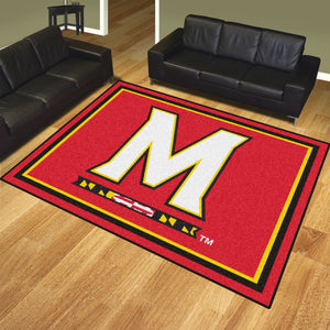 Maryland Terrapins | Rug | 8x10 | NCAA