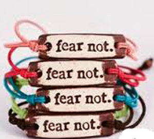 BRACELET BY MUDLOVE | FEAR NOT | MULTIPLE BAND COLORS | STRETCHABLE BAND