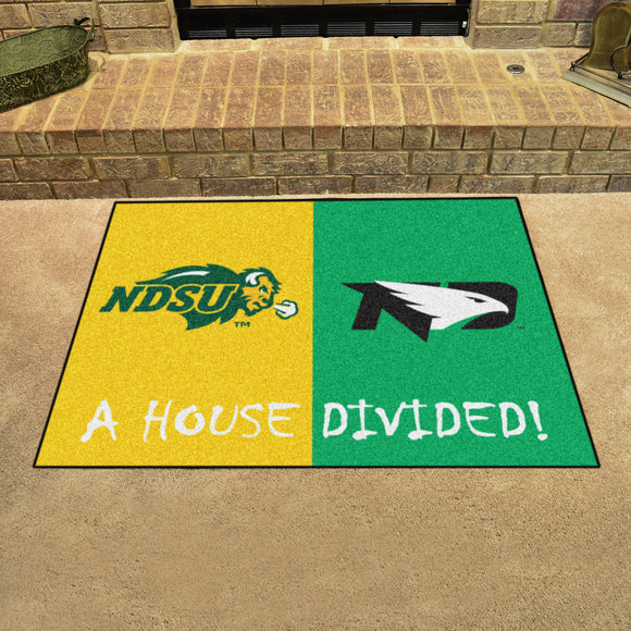 Bison | Fighting Hawks | House Divided | Mat | NCAA