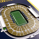 Notre Dame Fighting Irish | Stadium Banner | Notre Dame Stadium | Wood