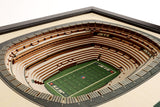 New York Jets | 3D Stadium View | MetLife Stadium | Wall Art | Wood