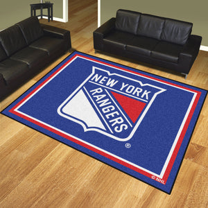 New York Rangers | Rug | 8x10 | NHL