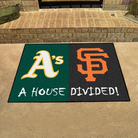 Athletics | Giants | House Divided | Mat | MLB