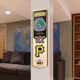 Pittsburgh Pirates | Stadium Banner | Home of the Pirates | Wood