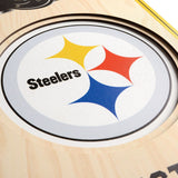 Pittsburgh Steelers | Stadium Banner | Home of the Steelers | Wood