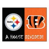 Steelers | Bengals | House Divided | Mat | NFL