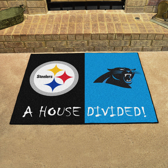 Steelers | Panthers | House Divided | Mat | NFL