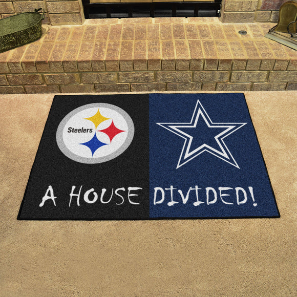 Steelers | Cowboys | House Divided | Mat | NFL
