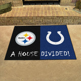 Steelers | Colts | House Divided | Mat | NFL
