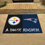 Steelers | Patriots | House Divided | Mat | NFL